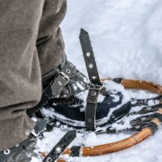 Snowshoeing itineraries
