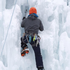 Ice climbing discovery